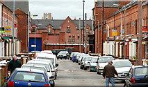 J3472 : Farnham Street, Belfast by Albert Bridge