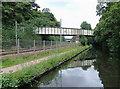 SP0481 : Worcester and Birmingham Canal near Selly Park, Birmingham by Roger  Kidd