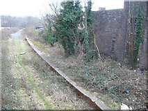 NT2774 : Derelict Abbeyhill Station, London Road by kim traynor