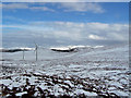 NG3547 : Wind farm moorland by Richard Dorrell