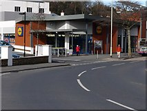 SS5147 : Lidl Supermarket, Wilder road, Ilfracombe by Roger A Smith