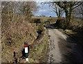 SX3180 : Parapet, Brockle Ford by Derek Harper