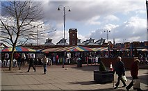 SJ9399 : Ashton Market by Peter Teal
