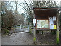 TQ4362 : Entrance to High Elms Country Park by Stacey Harris
