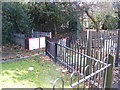 TQ4484 : Miniature Railway Level Crossing, Barking Park by Adrian Cable