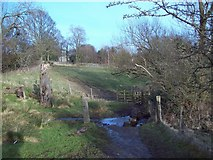 SK1583 : Brook near Losehill Hall by Jonathan Clitheroe