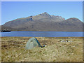 NH0569 : Camping by Lochan Fhada by Nigel Brown