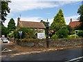 TF6624 : The local shop, tea room etc at Castle Rising by Elliott Simpson