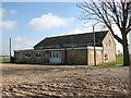 TF5703 : Barroway Drove village hall by Evelyn Simak