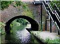SP0686 : Bath Road Bridge near Five Ways, Birmingham by Roger  Kidd