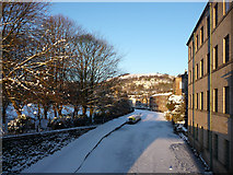SD9926 : Rochdale Canal by Machpelah Mill, Hebden Bridge by Phil Champion