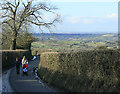 ST6360 : 2010 : Tackling the hill on King Lane by Maurice Pullin
