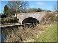 SJ8840 : Trent and Mersey bridge 105 by Peter Fleming