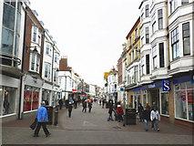 SY6778 : St Thomas Street, Weymouth by Roger Cornfoot
