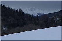 NS2272 : Winter scene in Shielhill Glen by Thomas Nugent