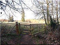 SP2050 : Kissing gate on footpath to Atherstone on Stour by David P Howard