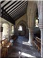 SO6562 : Inside St Peter's Stoke Bliss by Mark Holland