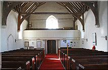 TR1148 : St Bartholomew, Waltham, Kent - West end by John Salmon