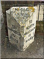 TG3823 : Old Milepost by Keith Evans