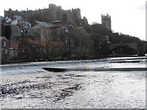 NZ2742 : River Wear, Durham Castle and Cathedral by Philip Barker