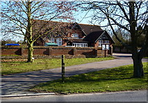 TM0652 : Village hall, Barking by Andrew Hill