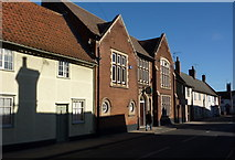 TM0855 : Needham Market Institute and Club by Andrew Hill