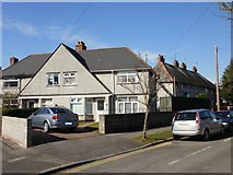 ST3288 : Corner of Christchurch Road and Radnor Road, Newport by Jaggery