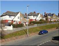 ST3288 : Elevated houses, Christchurch Road, Newport by Jaggery