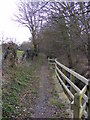TM3569 : Footpath to Bruisyard Road by Adrian Cable