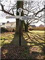 SU0809 : Verwood: Eastworth finger-post by Chris Downer