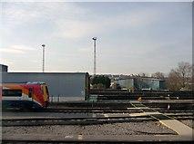 TQ2572 : London : Wimbledon - Wimbledon Traincare Depot by Lewis Clarke