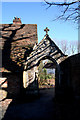 TQ2149 : Old Gateway, St. Michael's Church, Betchworth by Dr Neil Clifton