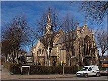 TQ2374 : The Polish Roman Catholic Church in Putney by tristan forward