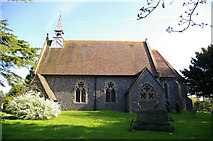 TR2647 : St Andrew's Church, Shepherdswell by adrian newell