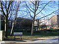 TQ3078 : Pedlars Park Vauxhall Walk Lambeth by PAUL FARMER