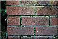 J5081 : Bench Mark, Bangor by Rossographer