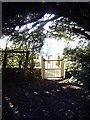 NZ1114 : Access to former manse from St Mary's churchyard by Stanley Howe