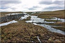 SD8965 : Winter water below Malham Tarn by Peter Church