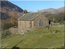 NY1717 : Buttermere Church by K  A