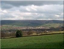SK0395 : Hillside above Glossop by Bill Boaden