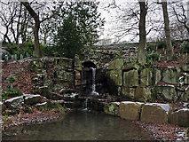 SE1025 : The Cascade and Wilderness Garden, Shibden Park by Phil Champion