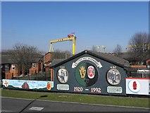 J3574 : Murals, East Belfast (3) by Kenneth  Allen