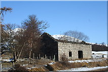 NH3214 : Dundreggan Ruin by Andrew Wood