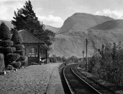 NN1176 : Banavie Station by Ben Brooksbank