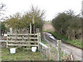 TG3903 : Stile taking path from Limpenhoe Common to Reedham Road by Evelyn Simak
