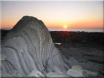 SN5779 : Sunset at Allt Wen by Rudi Winter