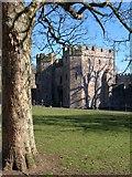 ST5545 : Gatehouse to Bishop's Palace, Wells by Derek Harper