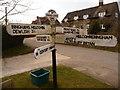 ST7602 : Melcombe Bingham: long-fingered signpost by Chris Downer
