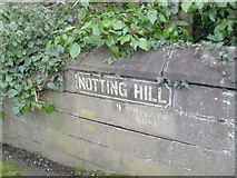 J3271 : Painted sign, Notting Hill, Belfast by Dean Molyneaux