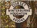 ST8104 : Winterborne Houghton: finger-post detail by Chris Downer